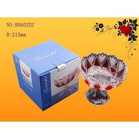 Decrotive gift Matte /  screen printing vegetable, fresh fruit, Candy Glass Bowl Manufactures