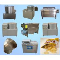 High Performance Potato Chips Production Line Fast Speed ISO Certification Manufactures