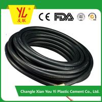 China colorful and durable high pressure fiber braided pvc plastic air hose on sale