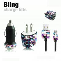 bling charger for moblie phone Manufactures