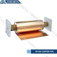 High Conductivity Surface Degreasing Copper Foil Roll , Tolerances ±0.001 Manufactures
