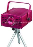 Mini Falling Star Laser Light with Diode Pumped Solid State Laser and 150mW Total Laser Power Manufactures