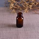 Old Brockway Glass amber medicine bottle Brown 2 OZ silk screen printing Manufactures