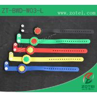 RFID one-time PVC wristband tag (LF/HF, Product Type:ZT-BWD-W03-L) Manufactures