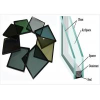 High Conversion Low E Insulated Glass , Air Spacer Tinted Tempered Glass Manufactures