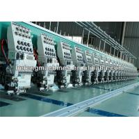 22 Heads 9 Needles High Speed Flat Embroidery Machine , Clothing / Garment / Apparel Embroidery Machine Manufactures