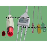 China BIONET KOREA BM3_One Piece ECG cable and leadwires,3-lead,Grabber,IEC on sale