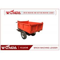 1-10T Load Electric Mini Dumper Track , Brick Cerry Electric Tricycle For Cargo Manufactures