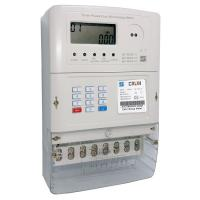 Mnin grid 20 Digits Token Three Phase Energy Meters , Low Credit Warning Tamper for sale