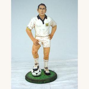 China Fashionable polyresin soccer Sports Impressions Figurines memorabilia  on sale