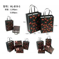 Customize Paper Jewellery packaging Bags with Flower Animal Printing Manufactures