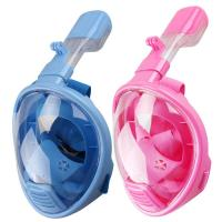 Pink Color Easybreath Full Face Snorkel Mask Underwater 180 Seaview Manufactures
