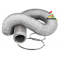 Ventilation system several colors available round flexible aluminium tube , duct Manufactures