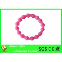 Soft Flexible Sports Custom Silicone Wristbands / Customize Silicone Bracelets for Girls Manufactures