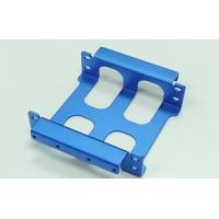 China CNC Machining Plated / Polish Spray Paint Machine Parts Blue Color on sale
