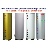 Pressurised Water Heater Storage Tank , Solar Water Storage Tank Customized Size Manufactures