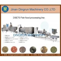 China Tropical fish feed machine for fish farm factory on sale