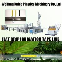 180m/mim Inline Flat Drip Irrigation Tape Extrusion Line KAIDE factory Manufactures