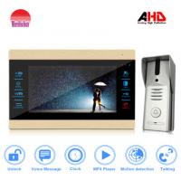 Morningtech AHD Touch Screen Video Door Phone with record Max support 32G Can  watch movies by indoor monitor Manufactures