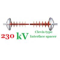 Silicon Rubber 230kv Interphase Spacer Big Ball Type Fitting High Performance Manufactures