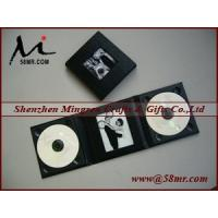 China Leather Wedding Double cd dvd Album Case on sale