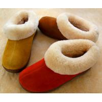 sheepskin slipper  color:dyed as your request  usage:indoor  feature:comfortable,warm