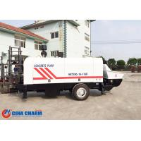 Stationary Trailer Mounted Concrete Pump Diesel Engine 66kw Electrical Engineering Power Manufactures