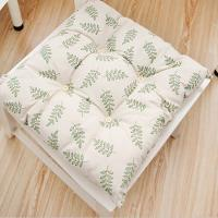 40 * 40CM Plush Seat Cushions Cotton Material Machine Washable Printing Logo Manufactures