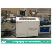 Black Color PPE Pipe Extrusion Line With Single Screw Extruder Chemical Resistance Manufactures