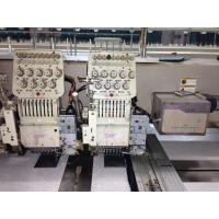 China Programmable Table Top Swf Embroidery Machine With Japan Panasonic Motor on sale