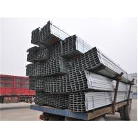 S235 , S275 , S355 HR Rectangular Steel Tube / RHS Low Carbon Steel Tube ERW Manufactures