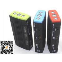 12V Automotive Jump Starter with 3*1W LEDs , Portable Power Bank And Car Jump Starter Manufactures