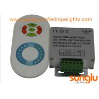 DC12V /24V LED Lighting Accessories Multi Function Touching RF RGB LED Controller Manufactures