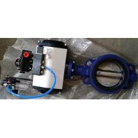 DN40 ~DN1800 Pneumatic Butterfly Valve With Ductile Iron / Stainless Steel Manufactures