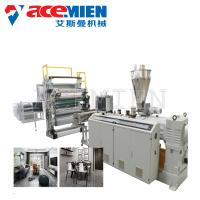 Sheet Board Extrusion Wall Panel Machine , Artificial Marble Production Line PVC Faux Manufactures