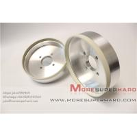 6'' High cutting action 6A2 vitrified diamond grinding wheel for PCD  -julia@moresuperhard.com Manufactures