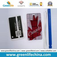 Hard PVC Travelling Luggage Name Tag with Strap Loop Anti-lost Manufactures