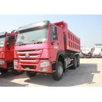 371HP Engine Three Axle Dump Truck 10 Wheels LHD / RHD Steering 12.00R20 Tire Manufactures