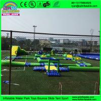 Buy cheap Best Selling Giant Inflatable Floating Water Park, Aqua Park Equipment, Water Amusement Park from wholesalers
