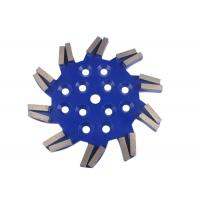 "Buy cheap ""Cyclone"" type Soft / Medium / Hard Bond Diamond Grinding Plate Concrete from wholesalers"
