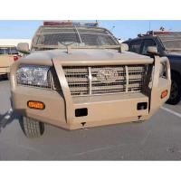 Steel bull bar OEM Powder coated front bumper 4x4 offroad bull bar for Toyota Land cruiser LC200 TJM Manufactures