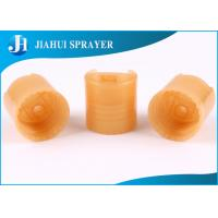 China Body Lotion Plastic Flip Top Caps Pull Top Bottle Caps For Hand Wash Liquid CE Certification on sale