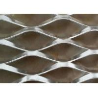 China Aluminium Expanded Steel Diamond Mesh For Construction Building Material on sale
