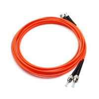 China 62.5 / 125 Multimode Duplex Fc Fiber Patch Cord , Outdoor A Fiber Optic Cable on sale