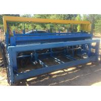 China High Efficient Crimped Wire Mesh Machine 2.5 M Width For Wire Screen on sale