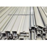 Powder Coating White Aluminum Door Frame Extrusions / Sections / Profiles / Panels Manufactures