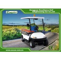 CE Approved Electric Ambulance Car 2 Seats 3.7KW Motor Ambulance Golf Cart Manufactures