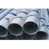 Galvanized Mild Steel Gi Pipe STK500 / STK400 , Round Steel Tube Manufactures