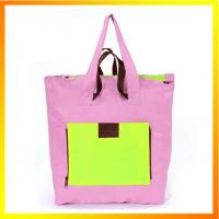 China Sturdy convenient cheap promotional nylon shopping bag on sale