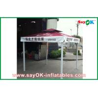 Oxford Cloth Outdoor Folding Tent  With Iron Frame Logo Printing Manufactures
